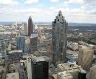 Atlanta-Stadt-Skyline Lizenzfreies Stockfoto