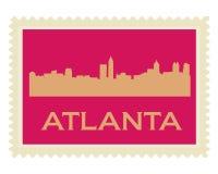 Atlanta-Str. Lizenzfreie Stockfotos