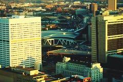 Atlanta a structuré photographie stock