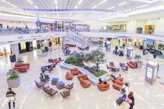 ATLANTA - Styczeń 19, 2016: Atlanta lotnisko międzynarodowe, wnętrze, dziąsła Fotografia Stock