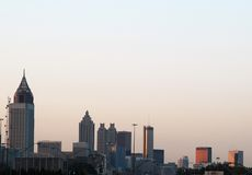 Atlanta Sunrise Royalty Free Stock Photo