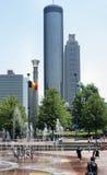 Atlanta urbana Imágenes de archivo libres de regalías
