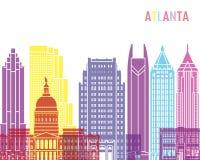 Atlanta_V2 skyline pop Stock Photo