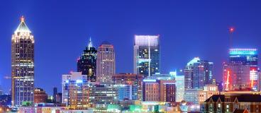 Atlanta van de binnenstad Stock Afbeeldingen