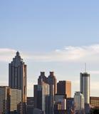 Atlanta van de binnenstad Royalty-vrije Stock Foto's