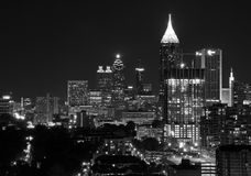 Atlanta van de binnenstad Royalty-vrije Stock Afbeeldingen