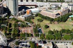 Atlanta van de binnenstad, GA stock afbeelding