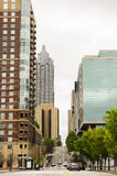 Atlanta van de binnenstad, Georgië de V.S. stock afbeelding
