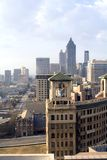 Atlanta Vertical. A vertical photo of Atlanta and it's skyline Royalty Free Stock Images
