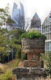 Atlanta vieja y nueva Foto de archivo libre de regalías