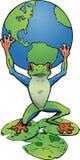Atlante della rana di albero Immagini Stock