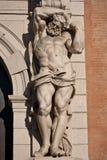 Atlante Statue - Bologna lizenzfreie stockbilder