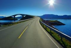 Atlanterhavsvegen. Noorwegen royalty-vrije stock fotografie