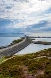 Atlanterhavsveien, Noorwegen Stock Foto's