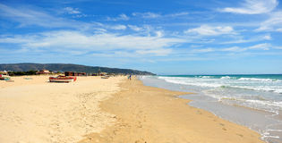 Atlanterra beach,  Zahara de los Atunes, Cadiz province, Spain Stock Images
