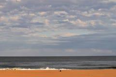 atlantic заволакивает океан сверх стоковые фотографии rf