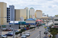 Atlantic Avenue in Virginia Beach Royalty Free Stock Photography