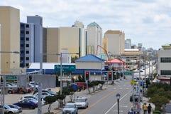 Atlantic Avenue in Virginia Beach Royalty Free Stock Photography