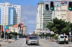 Atlantic Avenue in Virginia Beach Royalty Free Stock Photo