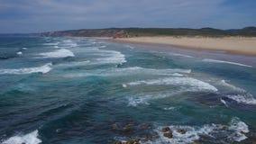 Atlantic beach Carrapateira Royalty Free Stock Images