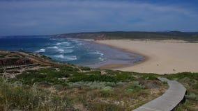 Atlantic beach Carrapateira Royalty Free Stock Image