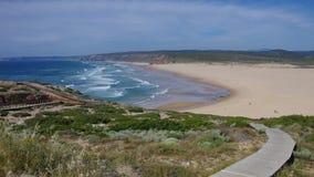 Atlantic beach Carrapateira Stock Photo