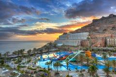 Atlantic beach of Gran Canaria island Stock Photo