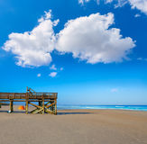 Atlantic Beach in Jacksonville of florida USA Stock Photography