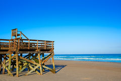 Atlantic Beach in Jacksonville of florida USA Royalty Free Stock Images