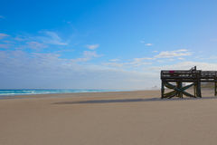 Atlantic Beach in Jacksonville of florida USA Stock Images