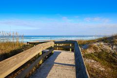 Atlantic Beach in Jacksonville of florida USA. Atlantic Beach in Jacksonville East of Florida USA US Royalty Free Stock Photography