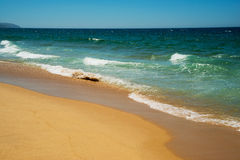 Atlantic Beach, Portugal. Royalty Free Stock Photo