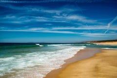 Atlantic Beach, Portugal. Stock Photos