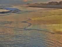 Atlantic Beach Sunset royalty free stock images