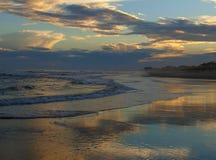 Atlantic Beach Sunset Royalty Free Stock Photos