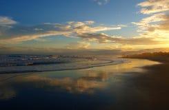 Atlantic Beach Sunset Royalty Free Stock Photography