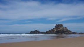 Atlantic beach Royalty Free Stock Image