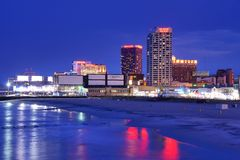 Atlantic City Stock Image