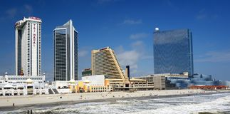 Atlantic City Royalty Free Stock Images