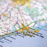 Atlantic City Stockfotografie