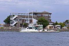 Atlantic City Aquarium in Historic Gardner's Basin Stock Images