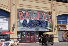 Atlantic City, am 4. August: Kasinofassade von Atlantic City Erholungsort in New-Jersey Stockfoto