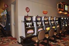 Atlantic City, am 4. August: Kasinoinnenansicht von Atlantic City Erholungsort in New-Jersey Lizenzfreie Stockbilder
