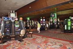 Atlantic City, am 4. August: Kasinoinnenansicht von Atlantic City Erholungsort in New-Jersey Lizenzfreie Stockfotografie