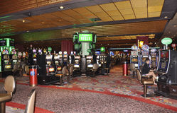 Atlantic City, am 4. August: Kasinoinnenansicht von Atlantic City Erholungsort in New-Jersey Stockbild