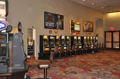 Atlantic City,August 4th:Casino interior view from Atlantic City Resort in New Jersey stock image