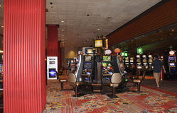 Atlantic City,August 4th:Casino interior view from Atlantic City Resort in New Jersey stock photo