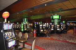 Atlantic City,August 4th:Casino interior view from Atlantic City Resort in New Jersey Royalty Free Stock Images