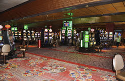 Atlantic City,August 4th:Casino interior view from Atlantic City Resort in New Jersey Stock Photos