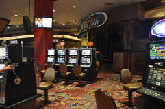 Atlantic City,August 4th:Casino interior view from Atlantic City Resort in New Jersey Stock Images